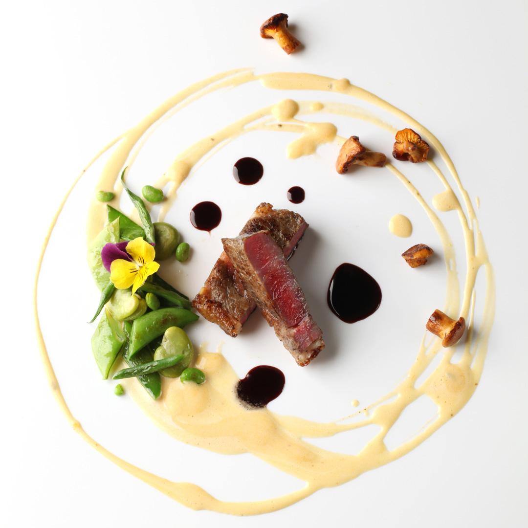 テラスメニューお肉料理例