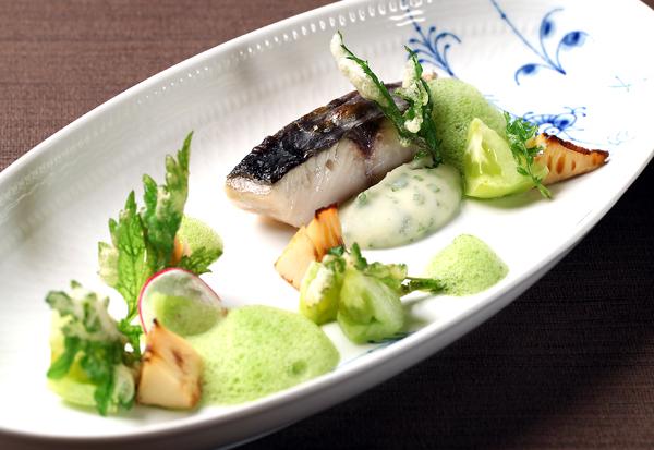 テラスメニューお魚料理例